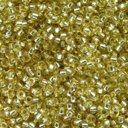 Бисер PRECIOSA 10 50гр 1сорт золотой огонек 78151
