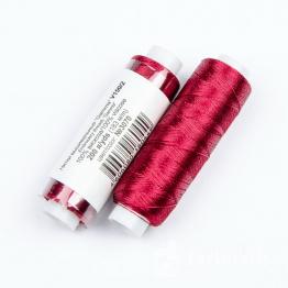 Нитки Вискоза 100% для вышивки и кистей 183м (вишневый) №3070