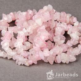 Каменная крошка Розовый кварц отрезок 42см