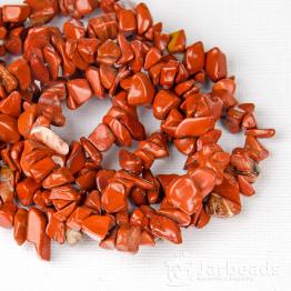 Каменная крошка Яшма красная отрезок 42см