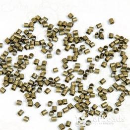 Обжимные цилиндры 1,5мм (бронза) 50шт