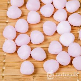 Бусины стеклянные PRECIOSA камушки 10*10мм (розовый) 10штук