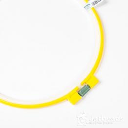 Пяльцы Рамка круглая 21см пластик (желтый)