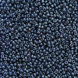 Бисер PRECIOSA 10/0 (50гр) 1сорт цвет: синий темный прозрачный блестящий арт.36110
