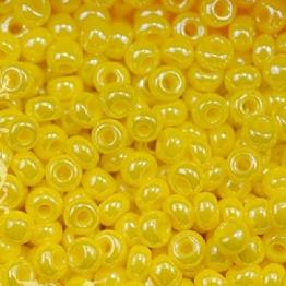 Бисер PRECIOSA 10/0 (50гр) 1сорт цвет: желтый блестящий арт.88110