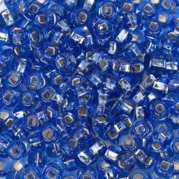 Бисер PRECIOSA 10/0 (50гр) 1сорт цвет: синий огонек арт.37030kvo