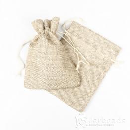 Мешочки тканевые 10*14см Без принта (мешковина)