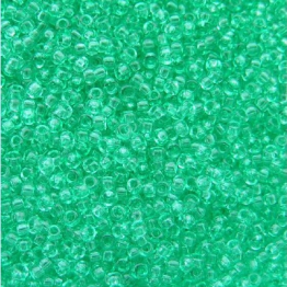 Бисер PRECIOSA 10/0 (50гр) 1сорт цвет: бирюзовый прозрачный арт.01164