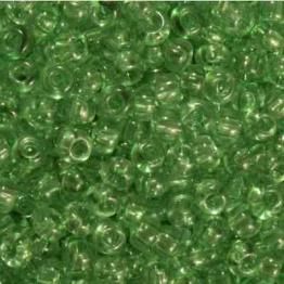 Бисер PRECIOSA 10/0 (50гр) 1сорт цвет: зеленый прозрачный арт.01162