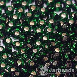 Бисер PRECIOSA 10/0 (50гр) 1сорт цвет: зеленый огонек арт.57150