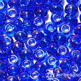 Бисер PRECIOSA 10/0 (50гр) 1сорт цвет: синий ирис арт.61300