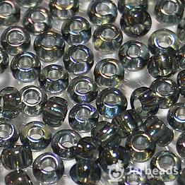 Бисер PRECIOSA 10/0 (50гр) 1сорт цвет: синий бензин прозрачный арт.41010