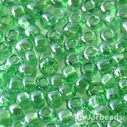 Бисер PRECIOSA 10/0 (50гр) 1сорт цвет: зеленый прозрачный арт.56120