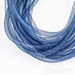 Ювелирная сетка для бижутерии d.8мм 1метр (синий)