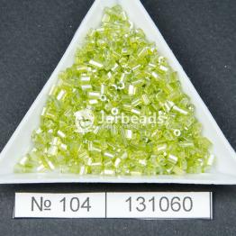 Рубка китайская (450гр) салатовый прозрачный блестящий арт.104