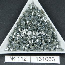 Рубка китайская (450гр) серый прозрачный блестящий арт.112