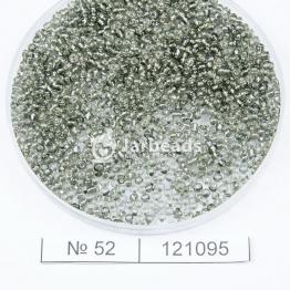 Бисер китайский 12/0 (450гр) черный огонек арт.52