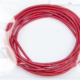 Канитель жесткая d.1,25мм 5грамм (красный) №6147