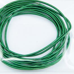 Канитель жесткая d.1мм 5грамм (зеленый) №6591