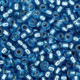 Бисер PRECIOSA 10/0 (20гр) 1сорт цвет: синий огонек арт.08236