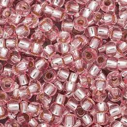 Бисер PRECIOSA 10/0 (20гр) 1сорт цвет: розовый огонек арт.08273