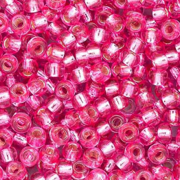 Бисер PRECIOSA 10/0 (20гр) 1сорт цвет: розовый огонек арт.08277