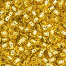 Бисер PRECIOSA 10/0 (20гр) 1сорт желтый огонек арт.08286