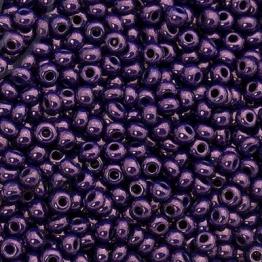Бисер PRECIOSA 10/0 (15гр) 2сорт цвет: фиолетовый темный керамика блестящая арт.33062
