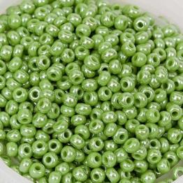 Бисер PRECIOSA 10/0 (50гр) 1сорт цвет: зеленый блестящий арт.58230