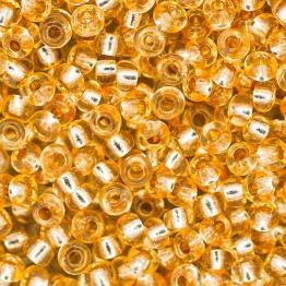 Бисер PRECIOSA 10/0 (20гр) 1сорт золотой огонек арт.78182