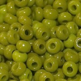 Бисер PRECIOSA 6/0 (50гр) цвет: зеленый оливковый керамика арт.53430