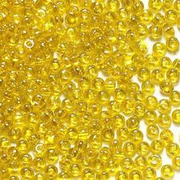 Бисер PRECIOSA 10/0 (50гр) 1сорт цвет: желтый прозрачный арт.80010