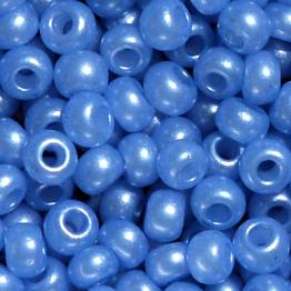 Бисер PRECIOSA 10/0 (50гр) 1сорт цвет: синий арт.17936mel