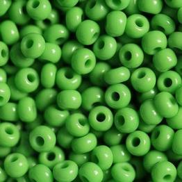 Бисер PRECIOSA 6/0 (50гр) цвет: зеленый керамика арт.53230
