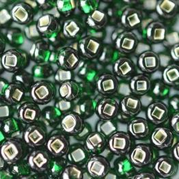 Бисер PRECIOSA 10/0 (50гр) 1сорт цвет: зеленый огонек арт.57150kvo