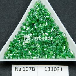 Рубка китайская (450гр) зеленый прозрачный блестящий арт.107B