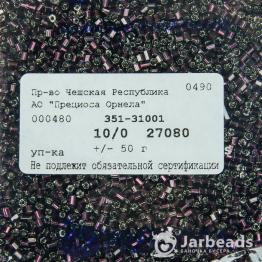 Рубка PRECIOSA 10/0 50грамм цвет: сиреневый огонек 27080