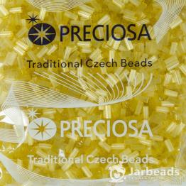Рубка PRECIOSA 10/0 50гр желтый сатин 141114