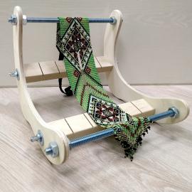 Станок деревянный для бисерного ткачества