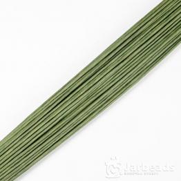 Проволока флористическая d2мм, длина 40cм (зеленый)