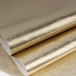 Заменитель кожи Бруклин лоскут 20*30см (золото) арт.B260-145