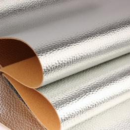 Заменитель кожи Фристайл лоскут 20*30см (серебро) арт.B410-145