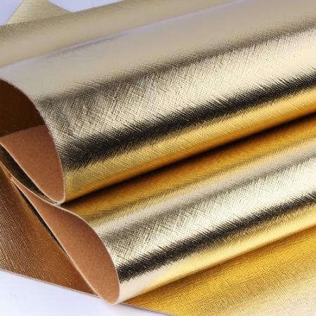 Заменитель кожи Гранж лоскут 20x30см золотой светлый D60-130