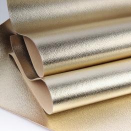 Заменитель кожи Гранж лоскут 20*30см (золото белое) арт.N80-43