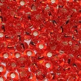 Бисер PRECIOSA 10/0 (15гр) 2сорт цвет: красный огонек арт.97050