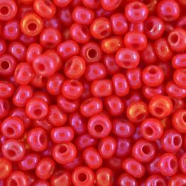 Бисер PRECIOSA 10/0 (15гр) 2сорт цвет: красный с отливом арт.94170