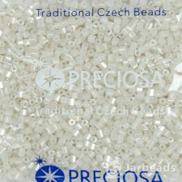 Рубка PRECIOSA 10/0 50грамм цвет: белый жемчужный 46102