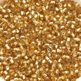 Бисер PRECIOSA 10/0 (15гр) 2сорт цвет: золотой огонек арт.17020