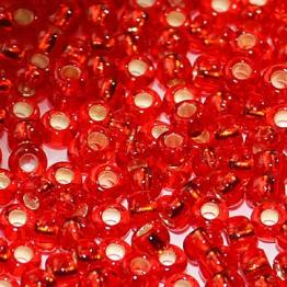 Бисер PRECIOSA 10/0 (15гр) 2сорт цвет: красный огонек арт.97070