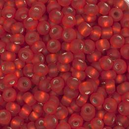 Бисер PRECIOSA 10/0 (15гр) 2сорт цвет: красно-оранжевый матовый огонек арт.97050m